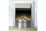 semi-inset gas fire