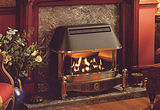 traditional gas fire