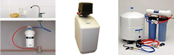 water filter and water softener